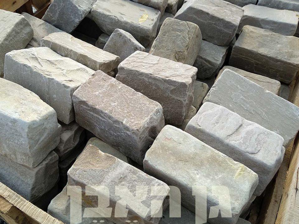 אבן סנדסטון צהובה לתיחום