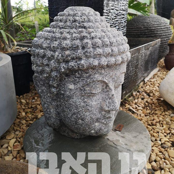 ראש בודהה מאבן גרניט