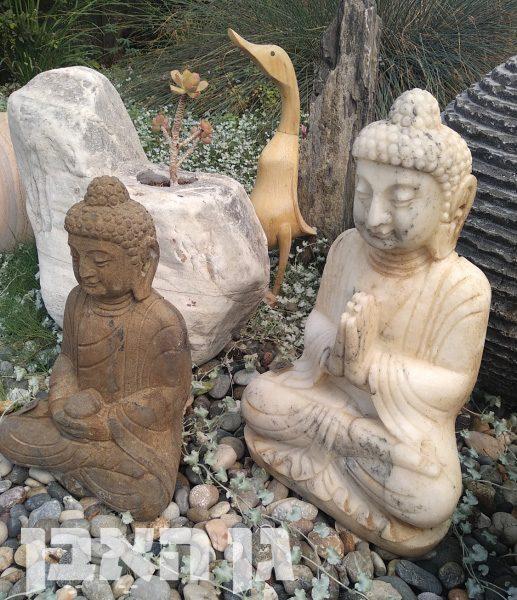 פסלי בודהה מאבן
