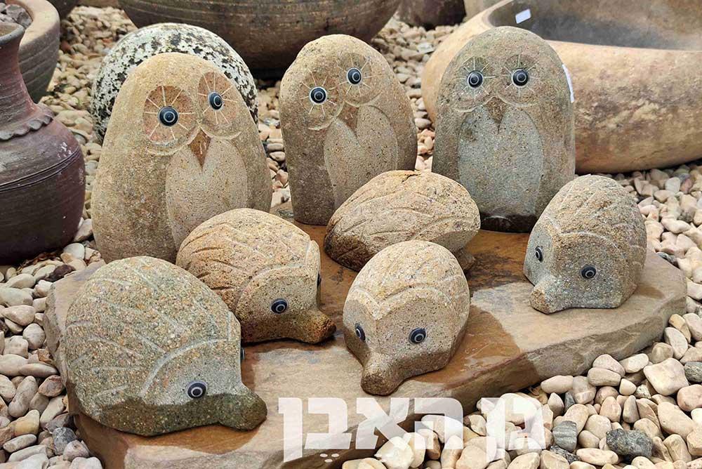 פסלי חיות מאבן
