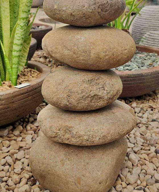מזרקות אלמנט מפל חמש אבנים