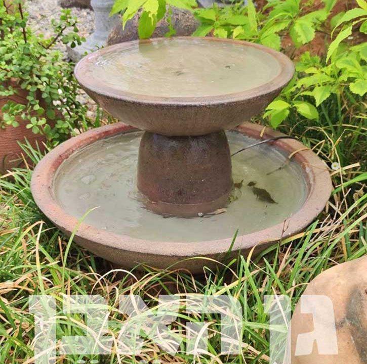 קערות מים לגינה